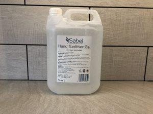 Sabel Cosmetics 5 litre hand sanitiser
